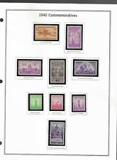 US #859-902 Collection of  42 sing.stamps ALL  MINT  / NH-OG ,HIGH CV $$$