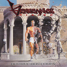 VENGEANCE RISING- DESTRUCTION COMES (*Used-CD, 1991, Intense Records) Orig Issue