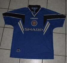ancien maillot de football MANCHESTER UNITED vintage SHARP CANTONA GIGGS