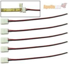 5pcs Quick Connectors With Wiring For Single Color 3528-SMD LED Strip Light #AS5