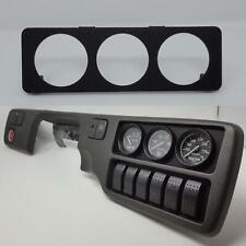 Climate Control Gauge Pod :: 92-95 Honda Civic (all) 52mm x 3 / Tri-Gauges plate