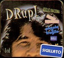 """DRUPI """" VOGLIO UNA DONNA (BELLISSIME)"""" CD SIGILLATO ITALY BOX LATTA LIMITED RARO"""