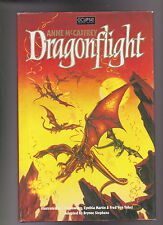 DROGONFLIGHT.GRAPHIC NOVEL. ANNE MCCAFFREY.SIGNED LIMITED  ED HB WITH DJ
