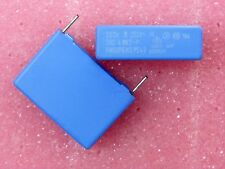 Set of 10- Condo Capacitor Mkt - P 220nF 0.22µF 0.22Mf 250Vac X2 Philips A7c)