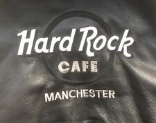 Hard Rock Cafe Manchester Leather Jacket Fits Size Medium