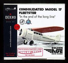ga7203/ DEKNO Models - Consolidated Model 17 F - Resin - 1/72 - TOPP MODELL