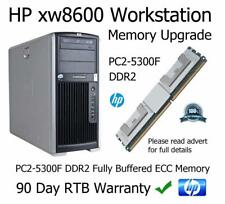 8GB DDR2 PC2-5300F 667MHz Fully Buffered Memory Upgrade HP xw8600 Workstation