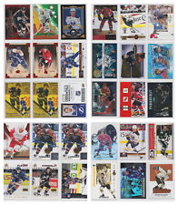 Rare Insert Parallel Numbered Limited SP  - Choose From List - NHL Hockey
