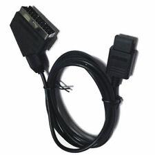 2M Real RGB For SNES NGC 1.8M Scart TV AV HD Lead AV PVC Lead Cable Game N64 -2