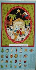 Quilting Patchwork Sewing Fabric CHRISTMAS ADVENT NATIVITY Panel 60x110cm New
