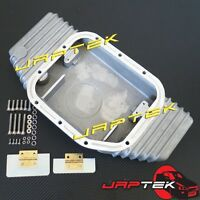 High Capacity Aluminum Oil Pan Sump For Nissan SR20 S14 S15 200SX 180SX Silvia
