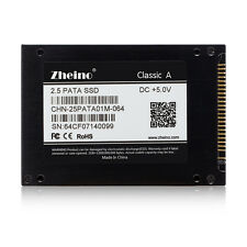 "Zheno 2.5"" IDE PATA SSD 64GB for DELL D610 D810,HP V2000 IBM T43 Alesis Fusion"