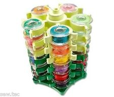 Stack and Store Bobbin Organizer  - Holds  30 Bobbins