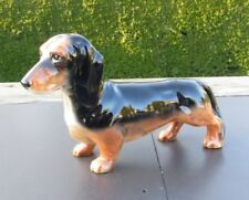 Unboxed Black Decorative Beswick Pottery Dogs