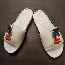 Ted Baker Men's Sauldi Slides White/ Red Sandals Shoes Sz UK 6 EU 40 US 7