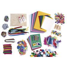 XXL Mega Bastelbox 2500 Teile Bastelmaterial Bastelset Kindergeburtstag