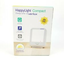 Verilux HappyLight Winter Energy Lamp Light Therapy Compact Portable 10,000 LUX