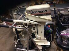 8 hp johnson outboard motor