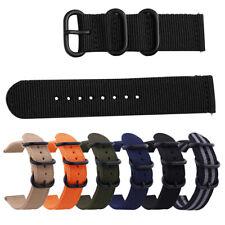 18mm 20mm 22mm 24mm Unisex Watch Band Nylon Wrist Strap Bracelet For Samsung