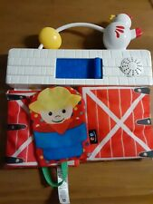 Fisher-Price My First Farm Small Play Mat With Sound Working Free Shipping Euc
