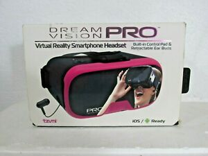 Dream Vision Pro Virtual Reality Smartphone Headset IOS/Android Ready - PINK