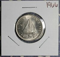 1966 BAHAMAS QUARTER COLLECTOR COIN. FREE SHIPPING
