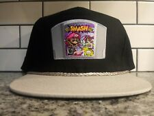 Retro Mario Smash Bros Nintendo 64 Trucker Hat Throwback Vintage Style