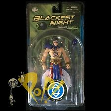 BLACKEST NIGHT Series 8 INDIGO LANTERN ATOM Action Figure DC Direct!
