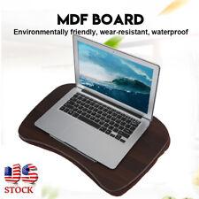 Lap Laptop Desk Portable Lap Desk with Pillow Cushion Fits up 16 inch Laptop