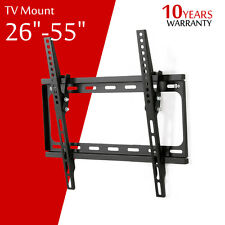 "Ultra slim Tilt Monitor LCD LED HD TV Wall Mount Bracket 26 32 39 40 42"" 50"" 55"""