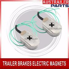 """ELECTRICAL BRAKE MAGNETS FOR TRAILERS.X 2 OVAL SHAPE 10"""""""