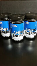 Optimum Nutrition Amino Energy 28.5 oz (810g) Blue Raspberry 90 Servings