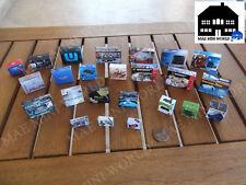 Video game consoles box miniature, Sony, Sega, Nintendo, Atari, NEO. Scale 1/12