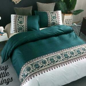 Duvet Cover Bedding Set Double Bedding Comforters Linen Queen For Adults Bed Set