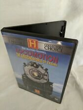Locomotion The Amazing World of Trains 2 DVD Set by The History Channel