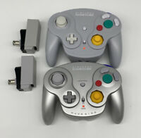 Nintendo Gamecube Wavebird Controller Lot Of 2 With Receivers Read Description
