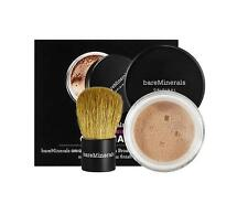 BAREMINERALS Original FOUNDATION SPF15 Medium Beige With KABUKI BRUSH Travel NEW