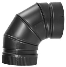 Selkirk 266230 Fixed Stove Pipe Elbow 90 Deg 6 in