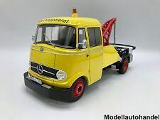 Mercedes L 319 gelb Abschleppdienst / Abschleppwagen 1:18 Premium ClassiXXs