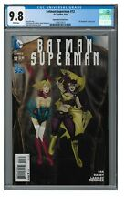 Batman/Superman #12 (2014) Bombshell Variant CGC 9.8 White Pages GG542