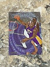 1999-2000 Skybox Metal Shaquille O'Neal #105 Los Angeles Lakers Basketball Card