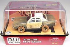 AUTO WORLD  DUKES OF HAZZARD  - 1977 DODGE MONACO POLICE  -  HO SLOT CAR - MIB