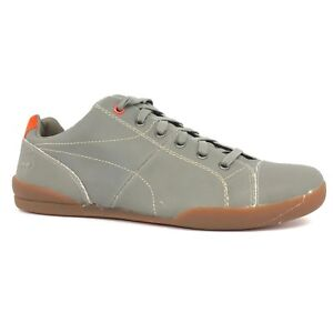 Timberland Men's Earthkeepers Splitcup Cap Toe Taupe Orange Oxford Shoes 5357A