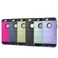 Lot/6 Brushed Finish Hybrid Case for iPhone 6 6S Wholesale