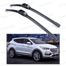 "26"" & 14"" Car Windshield Wiper Blade Bracketless for Hyundai Santa Fe 2013-2016"