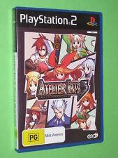 Atelier Iris 3 : Grand Phantasm - PlayStation 2 Game - Australian PAL Version