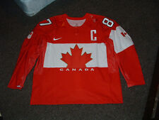 SIDNEY CROSBY #87 TEAM CANADA 2014 SOCCHI RED AUTHENTIC HOCKEY JERSEY sz 58 NEW