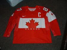 SIDNEY CROSBY #87 TEAM CANADA 2014 SOCCHI RED AUTHENTIC HOCKEY JERSEY sz 58 NEW