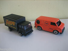 Lufthansa Crew Van Couleur Orange CORGI mars camion Good Clean a joué avec Cond.