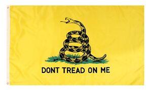 Rothco 1546 Don't Tread On Me Flag 3 Feet X 5 Feet
